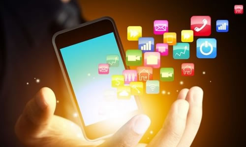 Image result for quảng cáo trên ứng dụng di động